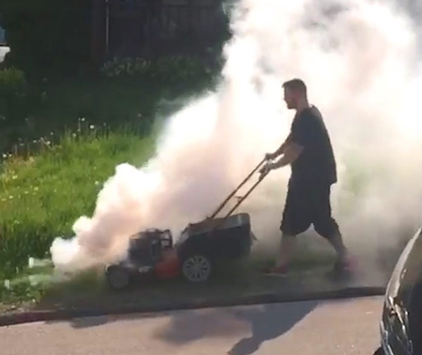 smoking-lawn-mower